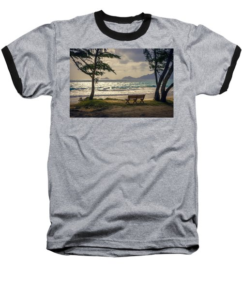 Baseball T-Shirt featuring the photograph Oahu Sunrise by Steven Sparks