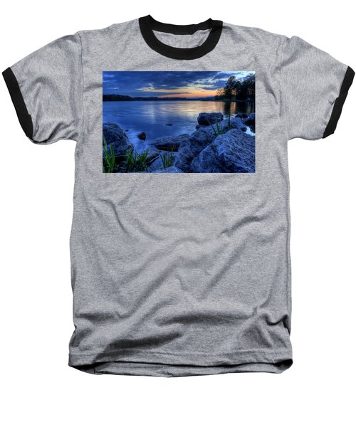 Ohio Spring Sunset Baseball T-Shirt