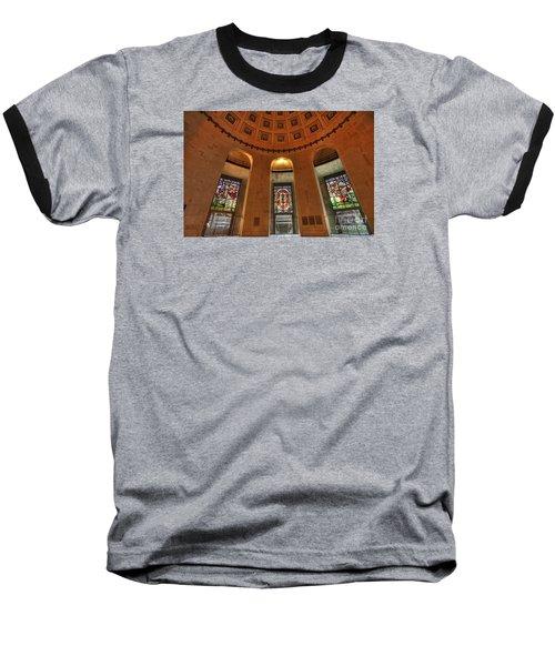 Ohio Stadium Baseball T-Shirt by David Bearden