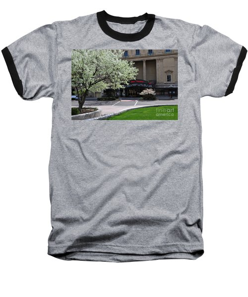 D45l42 Ohio Theatre Photo Baseball T-Shirt