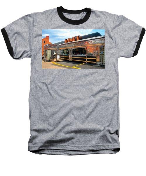 Ohio University Court Street Diner Baseball T-Shirt
