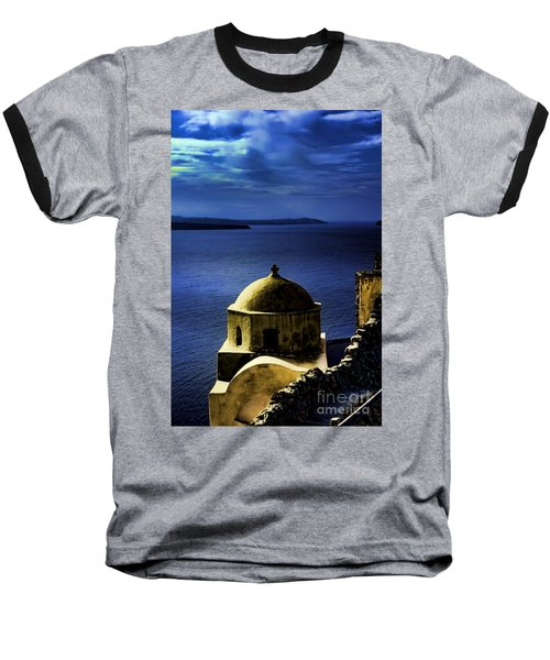 Oia Greece Baseball T-Shirt