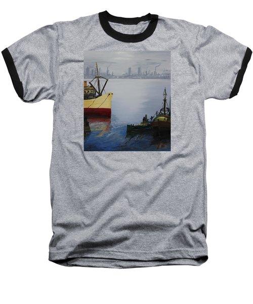 Oil Msc 025  Baseball T-Shirt