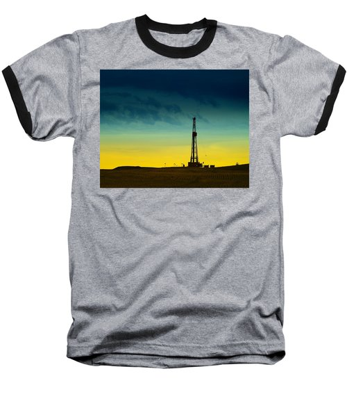 Oil Rig In The Spring Baseball T-Shirt