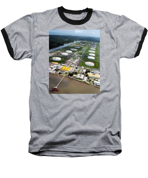 Oil Tank Farms  Baseball T-Shirt