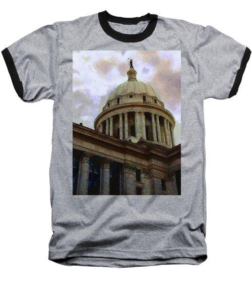Oklahoma Capital Baseball T-Shirt