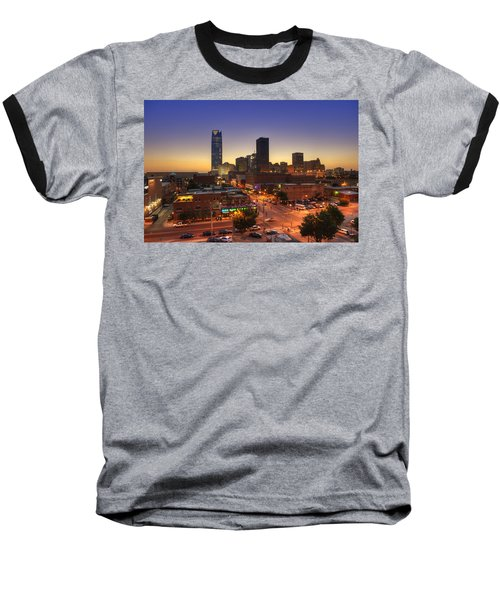 Oklahoma City Nights Baseball T-Shirt