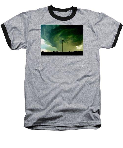 Oklahoma Mesocyclone Baseball T-Shirt