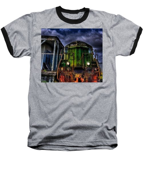 Baseball T-Shirt featuring the photograph Old 6139 Locomotive by Thom Zehrfeld