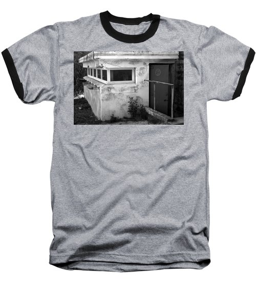 Old Army Lookout Baseball T-Shirt by Miroslava Jurcik