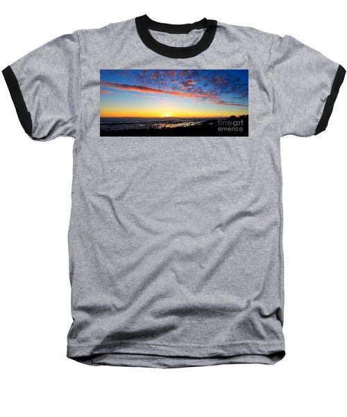 Baseball T-Shirt featuring the photograph Old A's Panorama by David Lawson