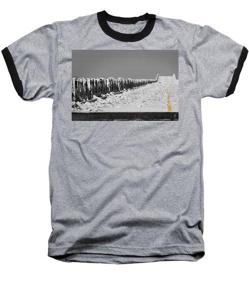 Old Bahia Honda Bridge Baseball T-Shirt
