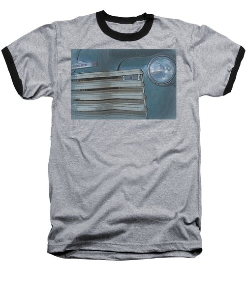 Baseball T-Shirt featuring the photograph Old Blue by Lynn Sprowl