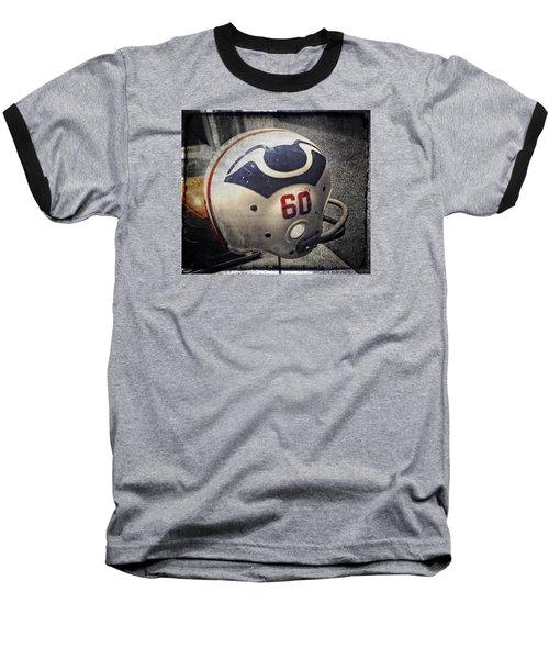 Old Boston Patriots Football Helmet Baseball T-Shirt