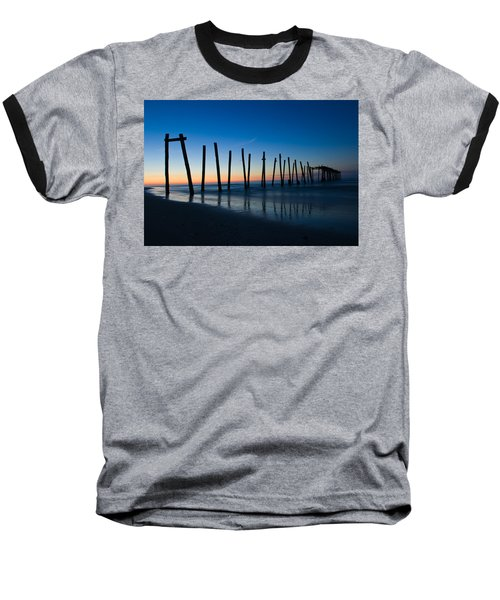 Old Broken 59th Street Pier Baseball T-Shirt