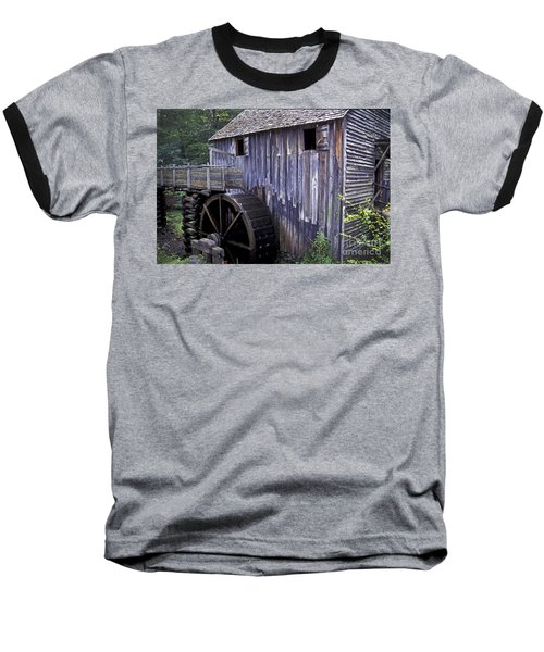 Old Cades Cove Mill Baseball T-Shirt