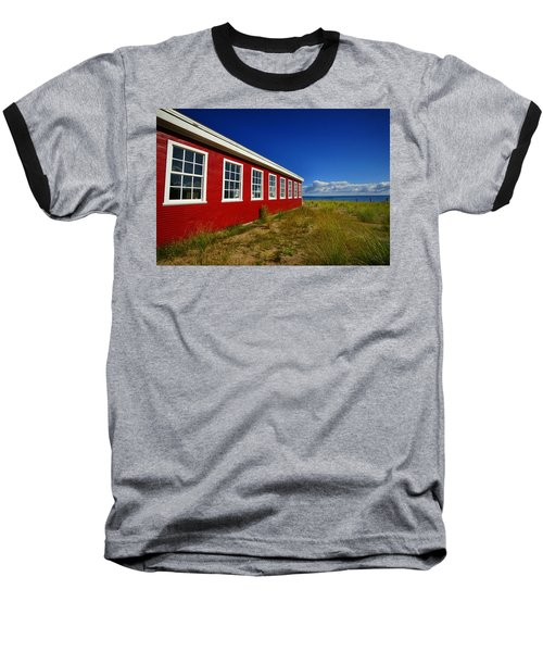 Old Cannery Building Baseball T-Shirt