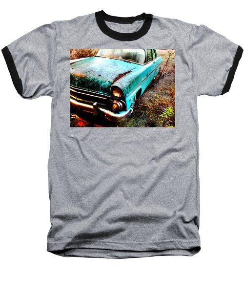 Old Car Baseball T-Shirt
