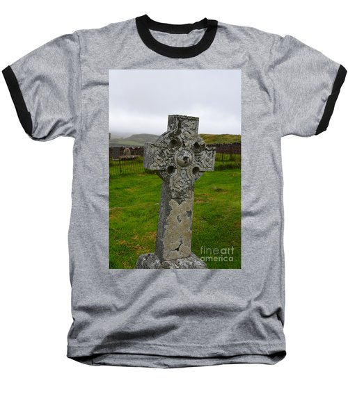 Old Cemetery Stones In Scotland Baseball T-Shirt