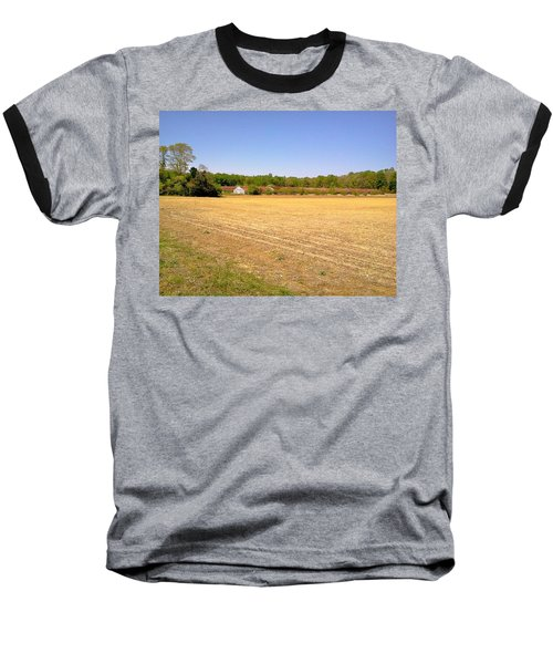 Old Chicken Houses Baseball T-Shirt by Amazing Photographs AKA Christian Wilson