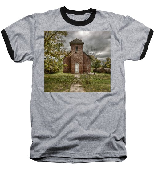 Old Church In Fall Baseball T-Shirt