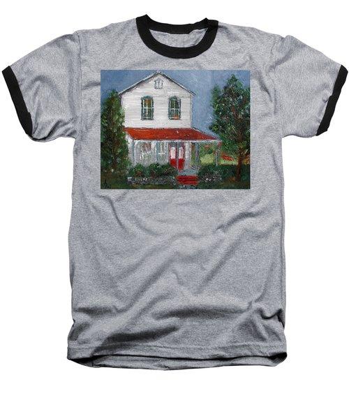 Old Farm House Baseball T-Shirt