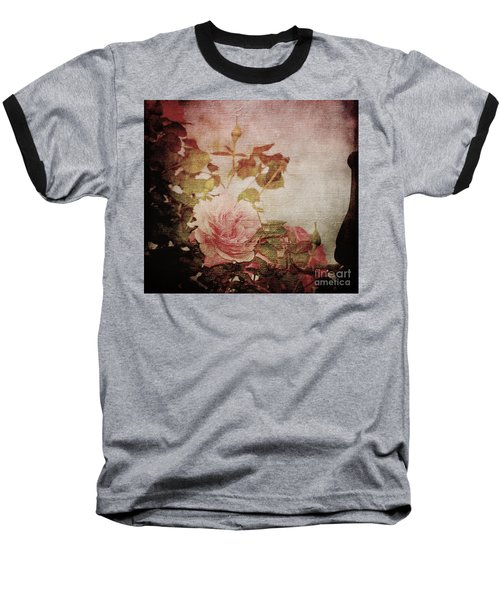 Old Fashion Rose Baseball T-Shirt