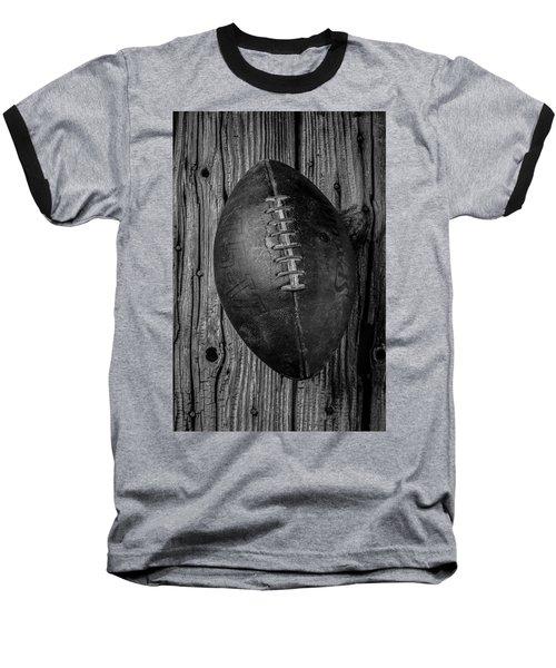 Old Football Baseball T-Shirt by Garry Gay