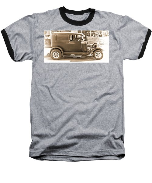 Old Ford Baseball T-Shirt by Cathy Anderson