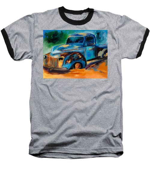 Old Ford In The Back Of The Field Baseball T-Shirt