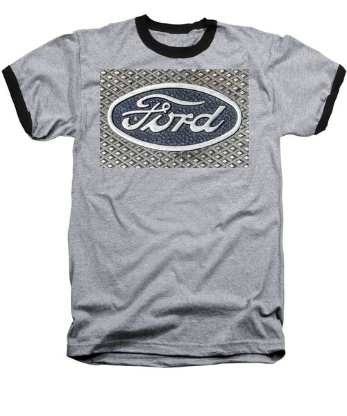 Old Ford Symbol Baseball T-Shirt