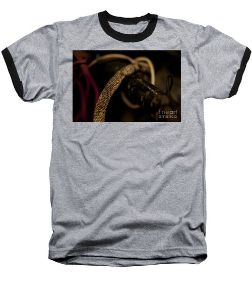 Old Frayed Wires Baseball T-Shirt