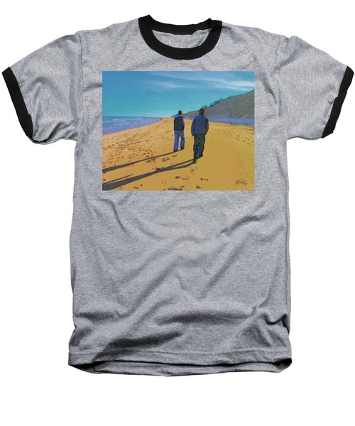 Old Friends Long Shadows Baseball T-Shirt