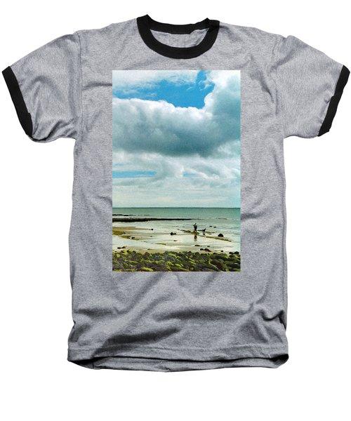 Old Friends Share A Beach Baseball T-Shirt
