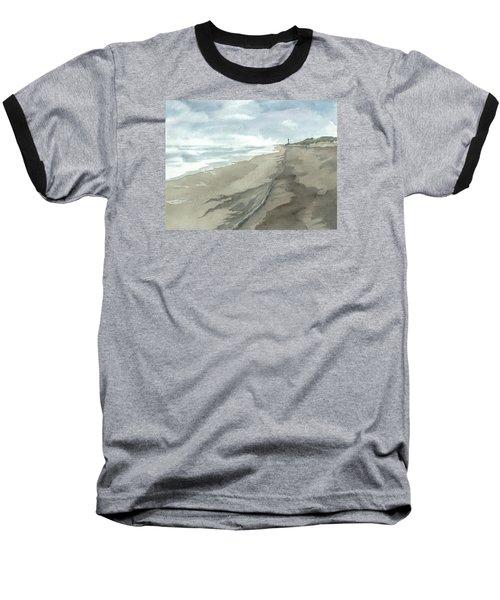 Old Hatteras Light Baseball T-Shirt by Joel Deutsch