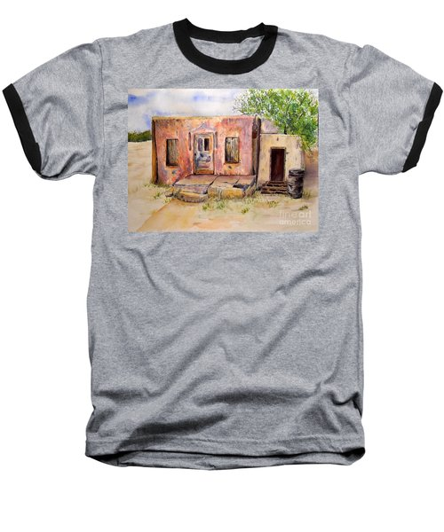 Old House In Clovis Nm Baseball T-Shirt by Vicki  Housel