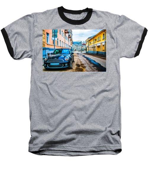 Old Lane Baseball T-Shirt by Alexander Senin