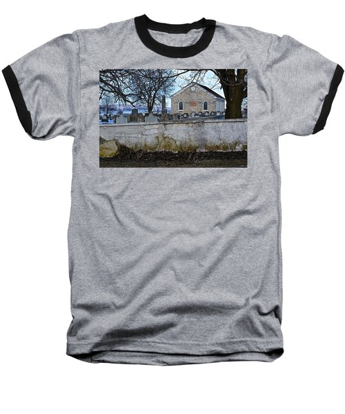 Old Leacock Presbyterian Church And Cemetery Baseball T-Shirt