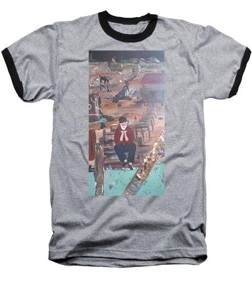 Old Man Baseball T-Shirt