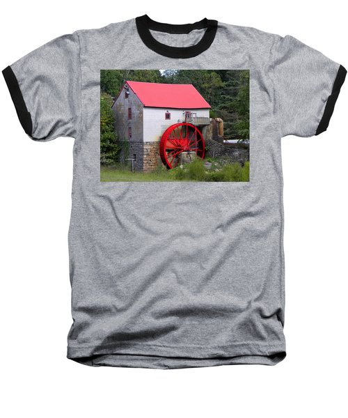 Baseball T-Shirt featuring the photograph Old Mill Of Guilford by Sandi OReilly
