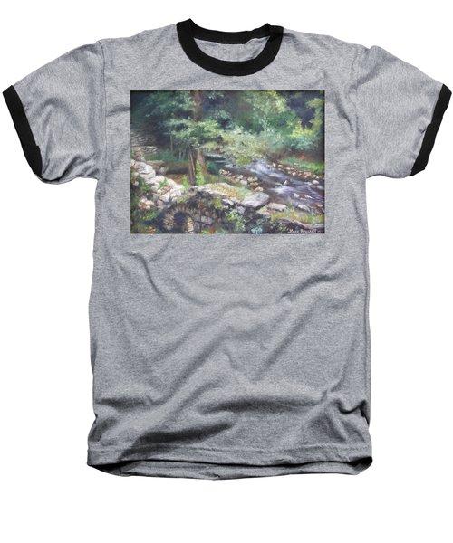 Old Mill Steam II Baseball T-Shirt