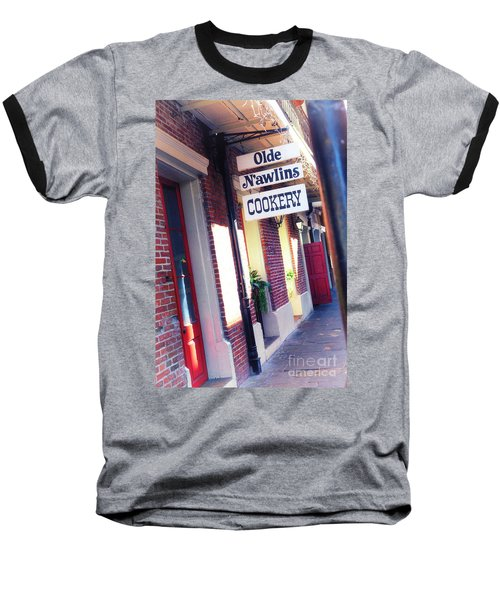 Baseball T-Shirt featuring the photograph Old Nawlins by Erika Weber