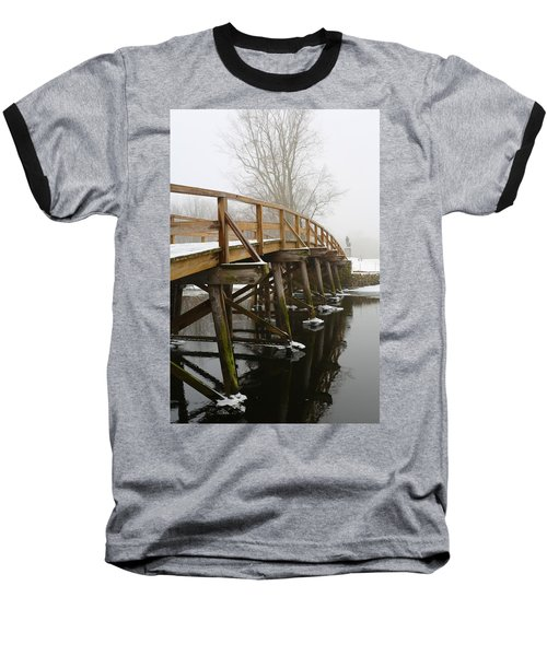 Old North Bridge Baseball T-Shirt