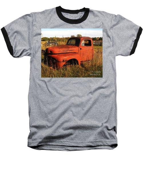 Old Orange Baseball T-Shirt