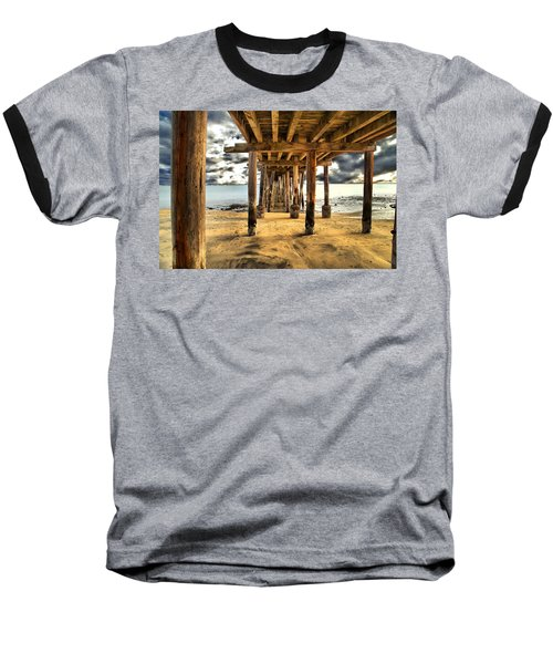 Old Pillar Point Pier Baseball T-Shirt