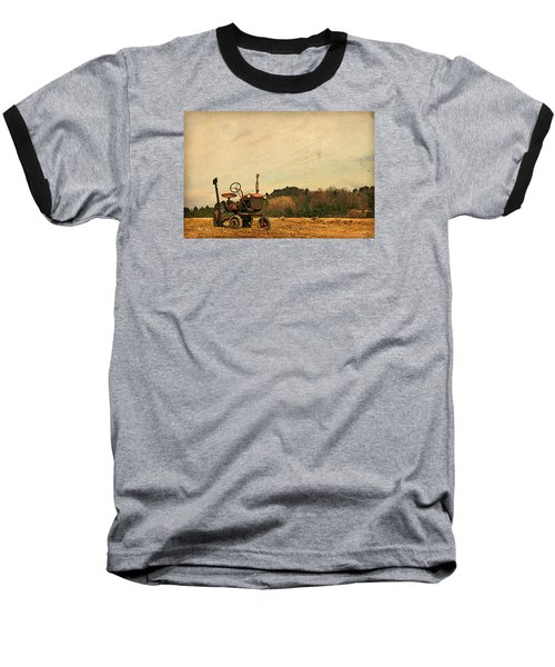 Baseball T-Shirt featuring the photograph Old Red by Joan Davis