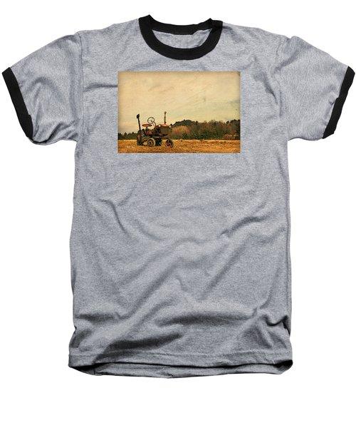 Old Red Baseball T-Shirt by Joan Davis