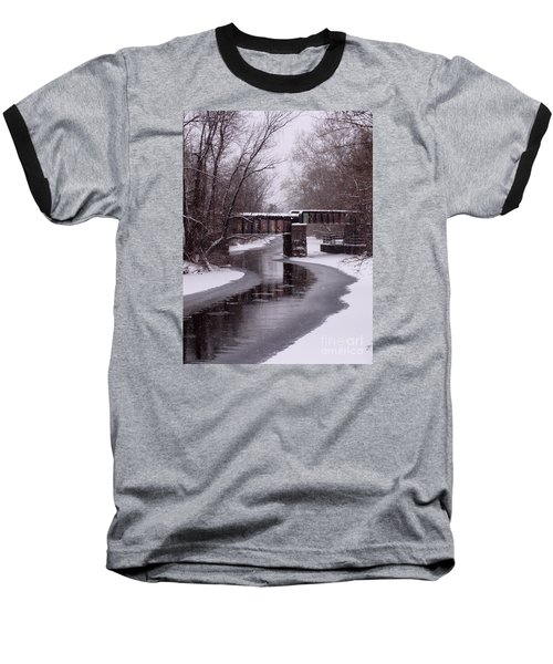 The Nifti Railroad Bridge Baseball T-Shirt