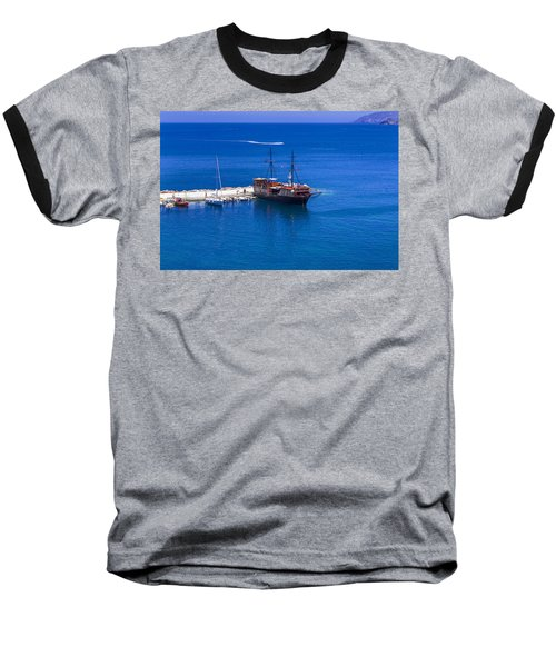 Old Sailing Ship In Bali Baseball T-Shirt