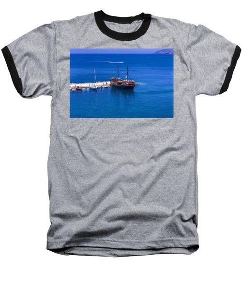 Old Sailing Ship In Bali Baseball T-Shirt